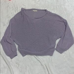 KENDALL AND KYLIE COLLECTION lavender sweater